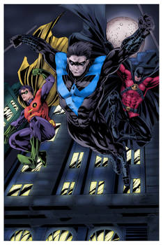 Artist Battle Season 5 Colors Entry - Nightwing
