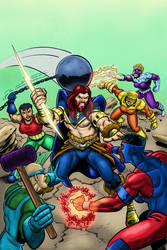 Colors - Taranis vs Demolition Squad