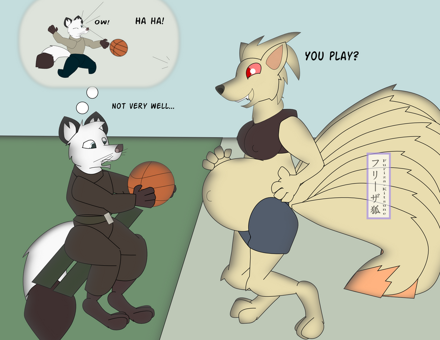 Basketball by The-Freezer-Fox