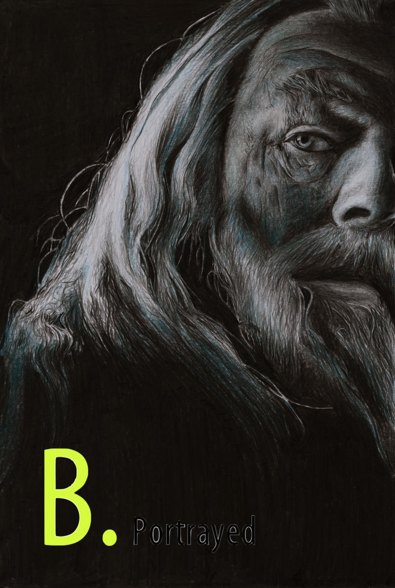 Albus Dumbledore by B-Portrayed