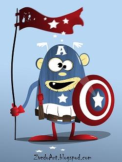 Captain America by zvedo