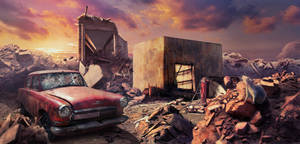 A post-apocalypse is garbage