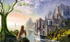 Bewitching city by Mariwa-Fallenangel