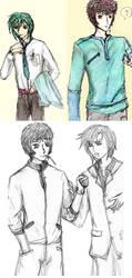 Rokoz n Kurata doodles by failedravenclaw