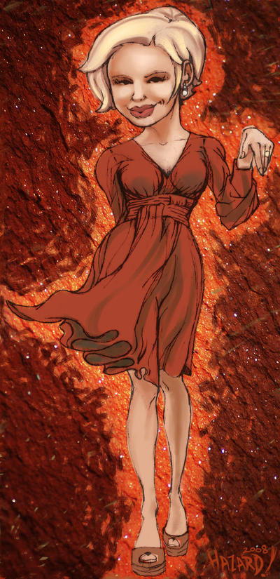 if love was a red dress by MRHaZaRD