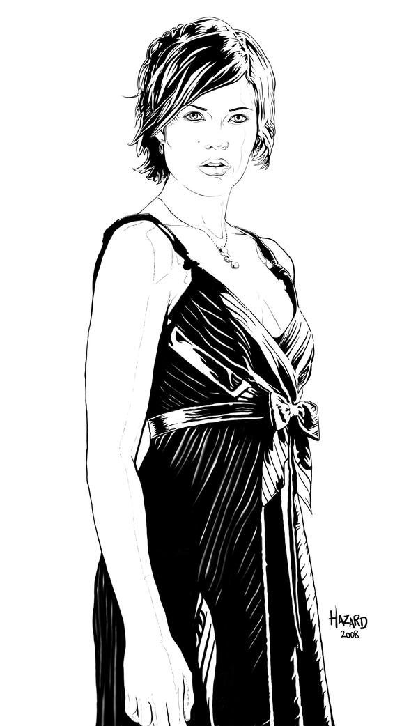 mandy moore lineart by MRHaZaRD