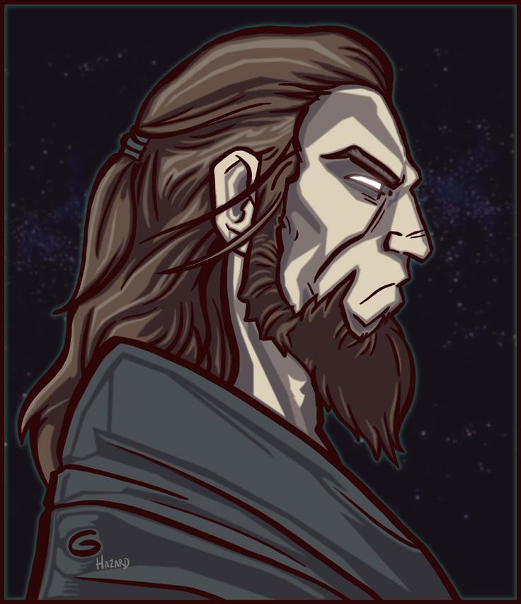 Random Jedi Guy by Grant Gould by MRHaZaRD