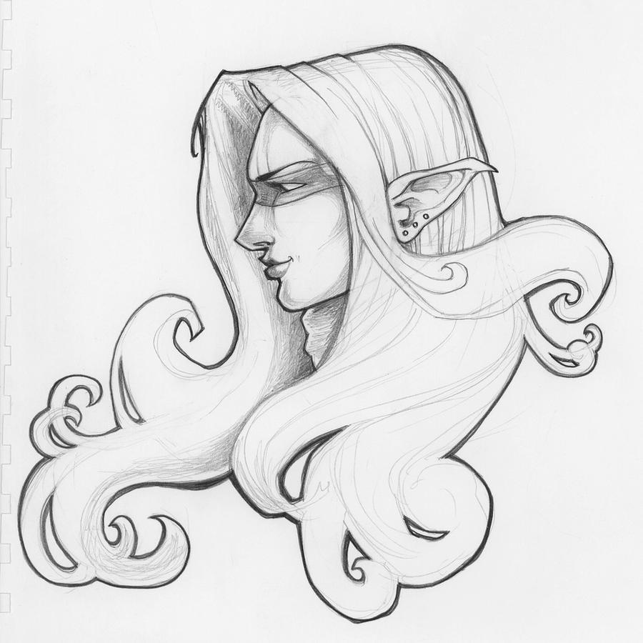 elfling sketch by MRHaZaRD