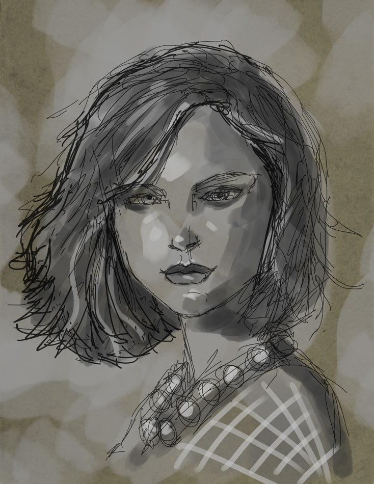 SketchPad Natalie Progress 001 by MRHaZaRD