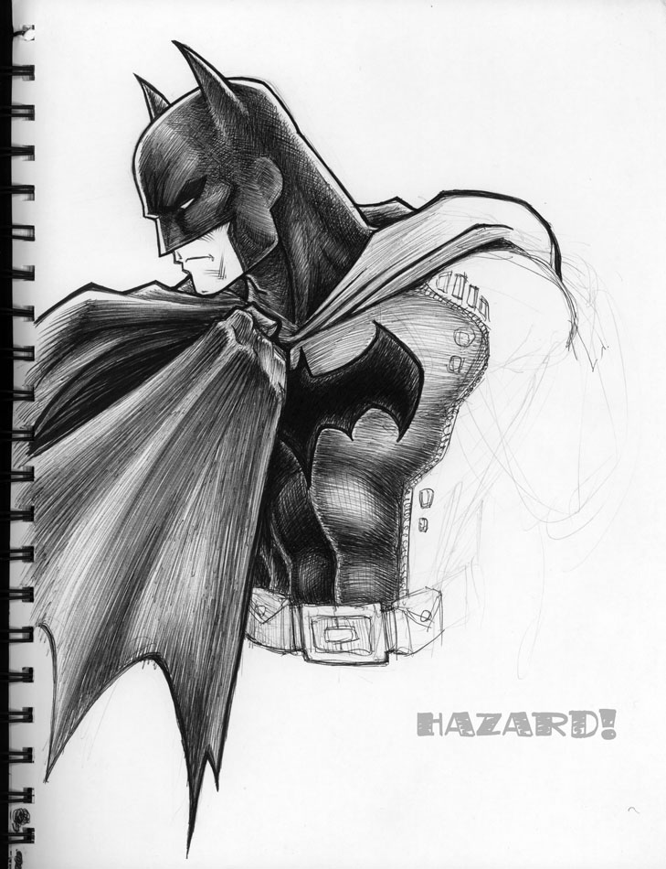 batman sketches - Parfu kaptanband co