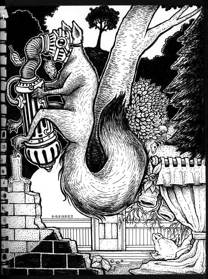 Sketches - TheSquirrel Machine by MRHaZaRD