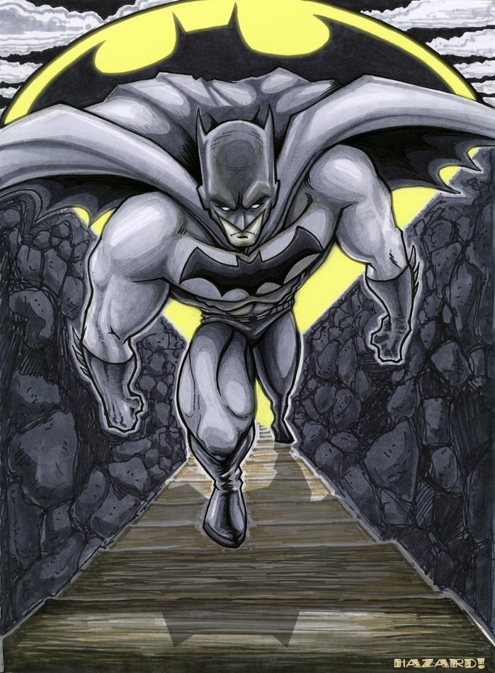 Batman Rising by MRHaZaRD