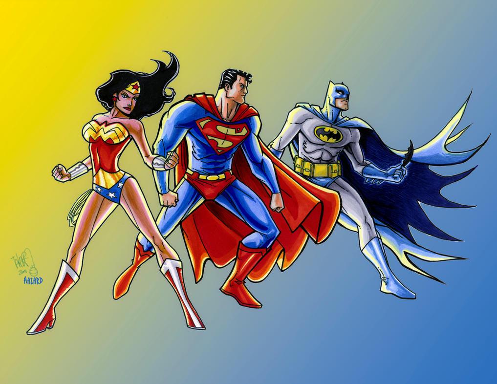 DC Heroes MarcioTakara Copic'd by MRHaZaRD