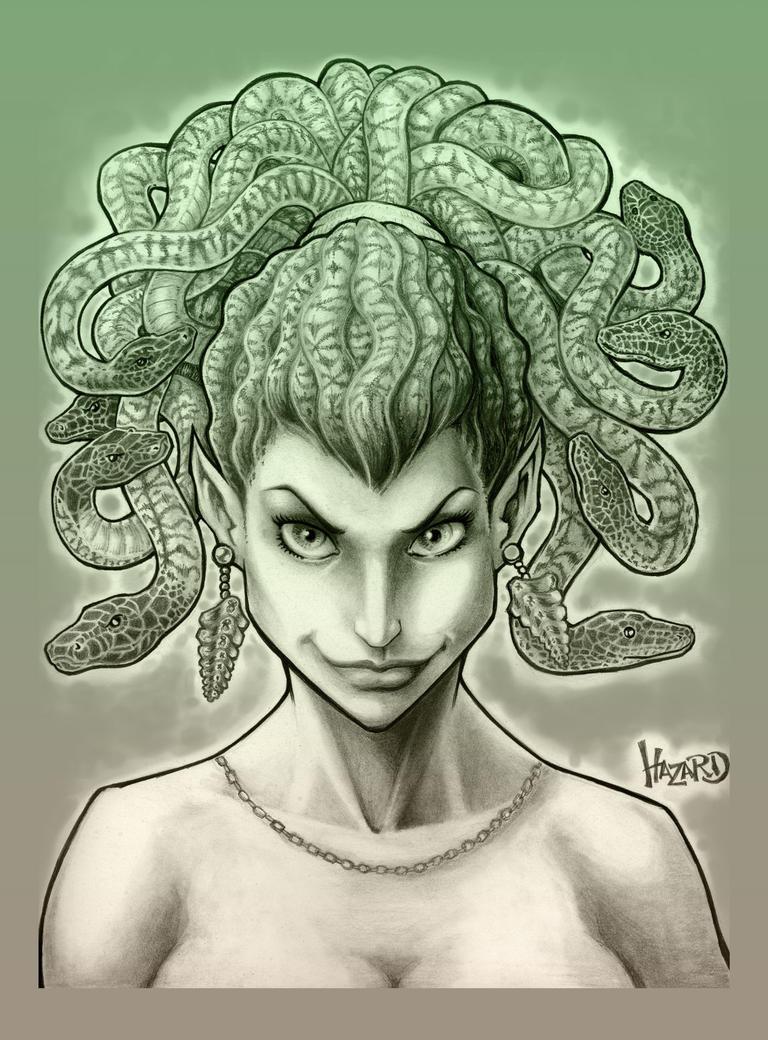 Everybody's Favorite Gorgon by MRHaZaRD