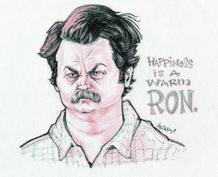 Happiness Is A Warm Ron by MRHaZaRD