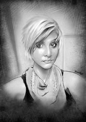 Portrait Study 6.15.2013 by MRHaZaRD