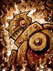 knight of fire by MRHaZaRD