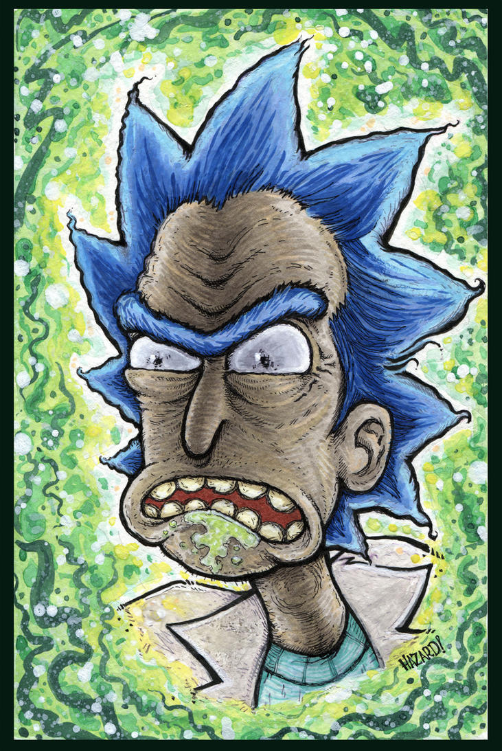 Rick Sanchez by MRHaZaRD