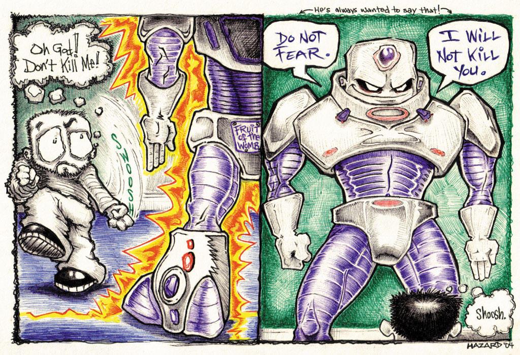 Filthy Boy Page Three by MRHaZaRD