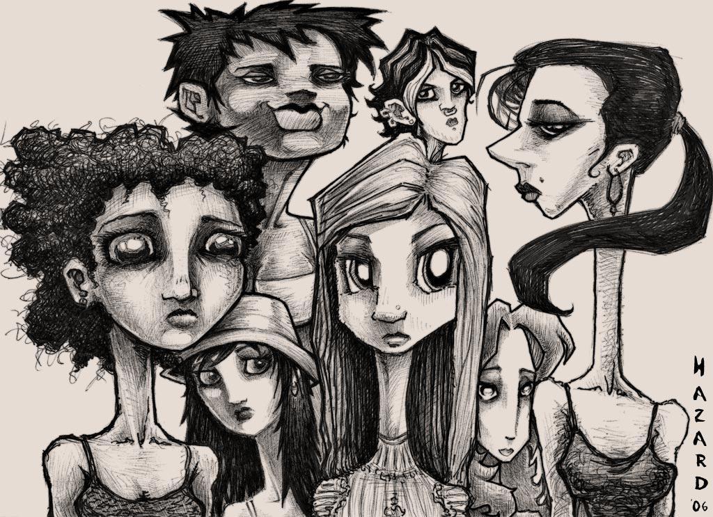 whoa-men sketch by MRHaZaRD