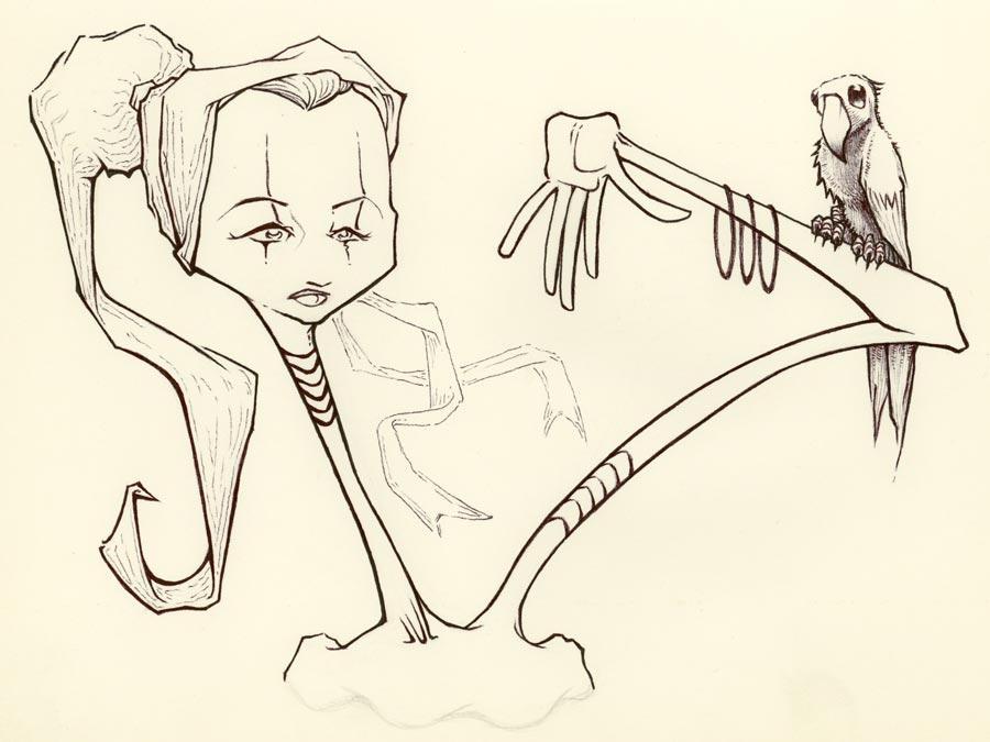 stiltSKIN sketch by MRHaZaRD