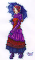 super goth girl raw scan by MRHaZaRD