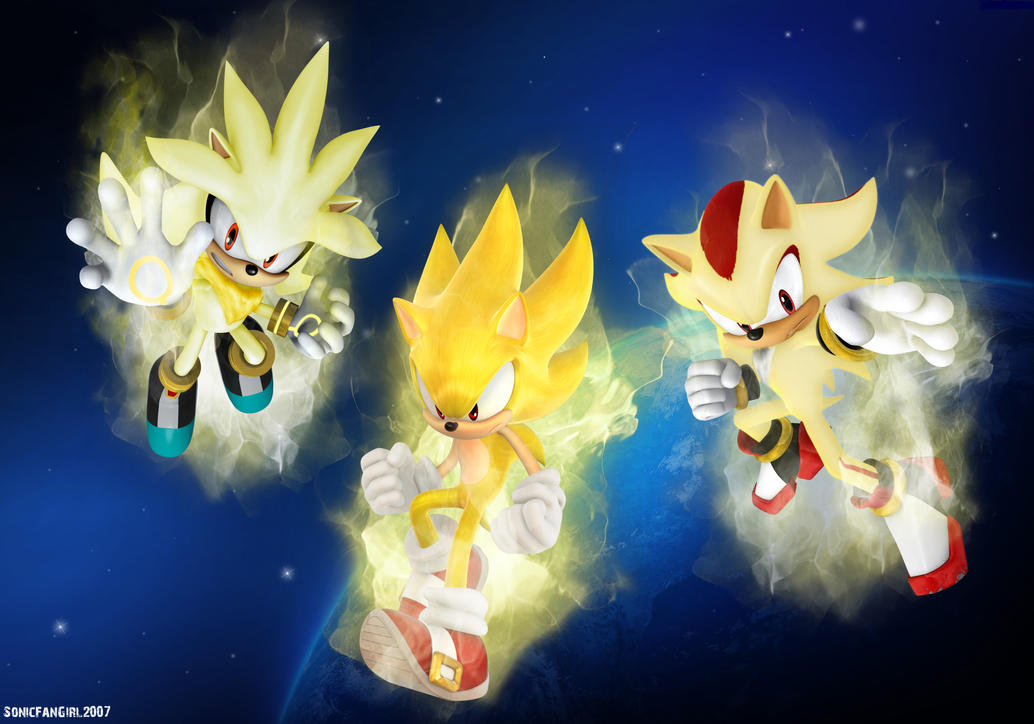 Super Hedgehogs Wallpaper By Starlight Sonic