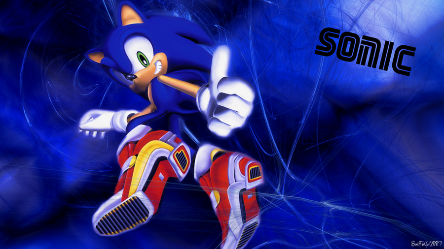 Sonic The Hedgehog Wallpaper By Starlight