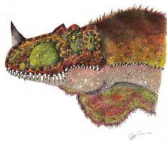 Genyodectes serus by Hueycuetzpalin