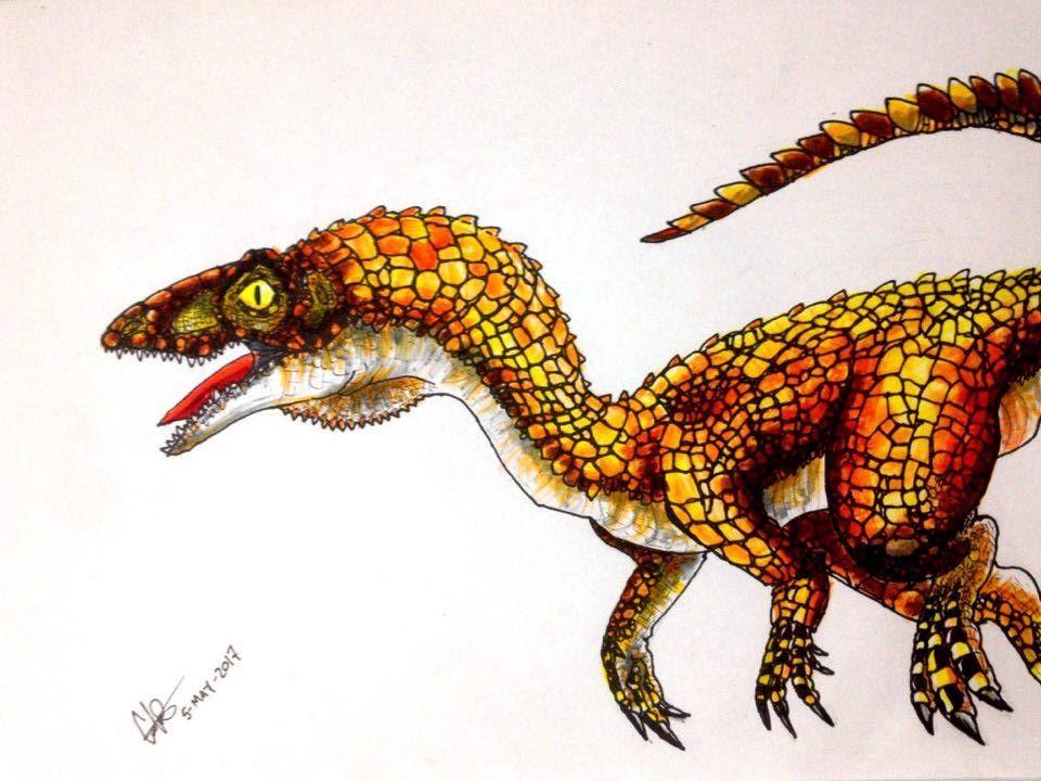 Eoraptor lunensis by Hueycuetzpalin