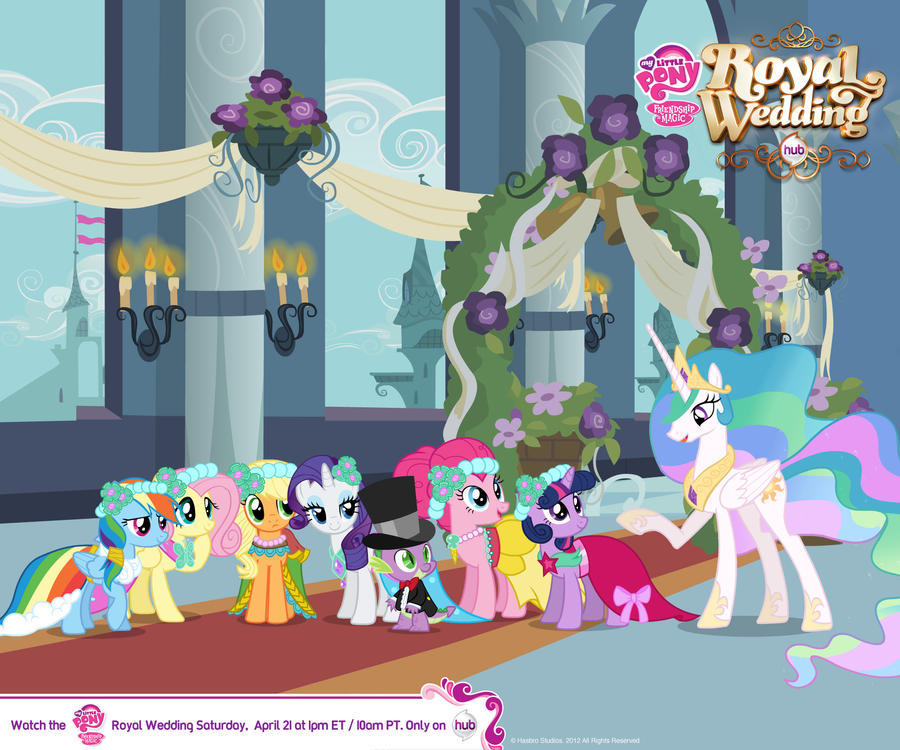 My Little Pony Royal Wedding: 1 By TheCrazzyGirl On