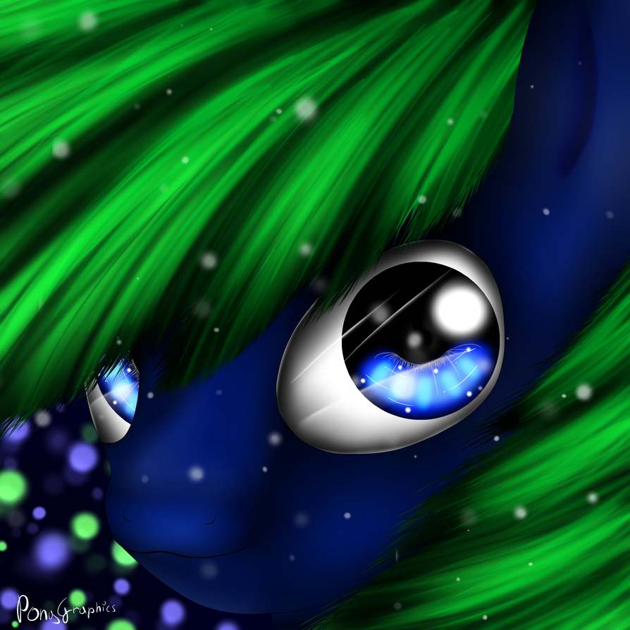 HEAD DRAW FOR MY OC by PonyGraphics