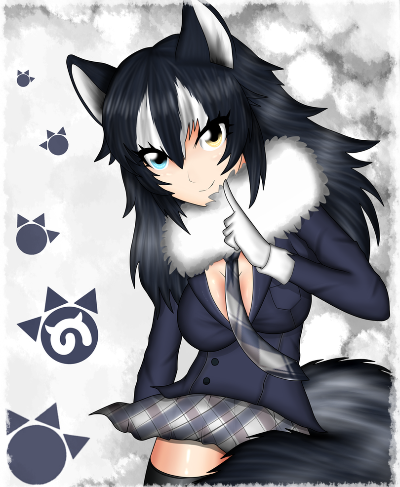 Wolf girl kemono friends by ponygraphics on deviantart - Wolf girl anime pictures ...