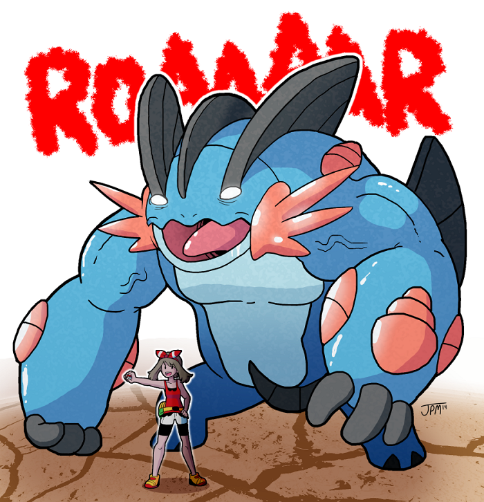 Mega Swampert, Destroyer of Worlds by jennyjams on DeviantArt