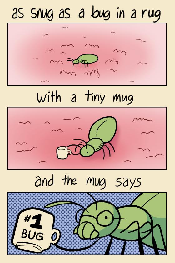 Nice Snug Bug Rug Mug By Jennyjams ...