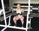 Deep Squats: Sports Bra Muscle