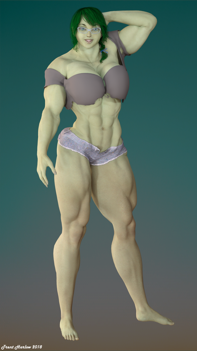 Dana Baxter, Brainy Hulk Girl! by TrentHarlow