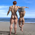 Gluteus Maximus: Beach Booties by TrentHarlow
