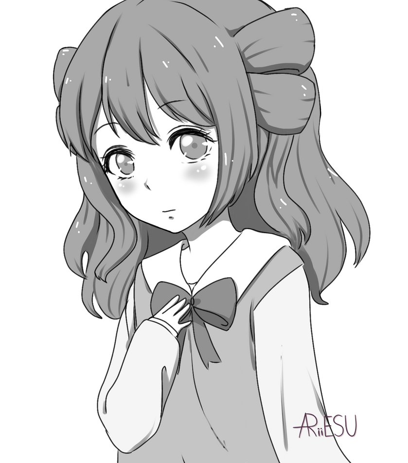Sketch COM] for Miachan14 by ariiesu98 on DeviantArt