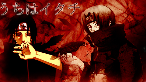Itachi PSP Wallpaper by Taniuskey-chan