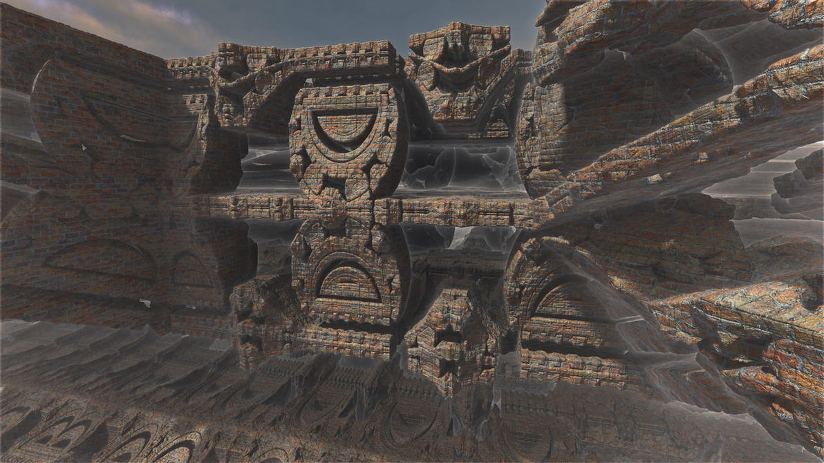 Mayan brick fantasy 1 by PatrickKarlsson