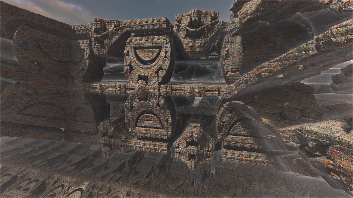 Mayan brick fantasy 1 by PatrickKarlsson
