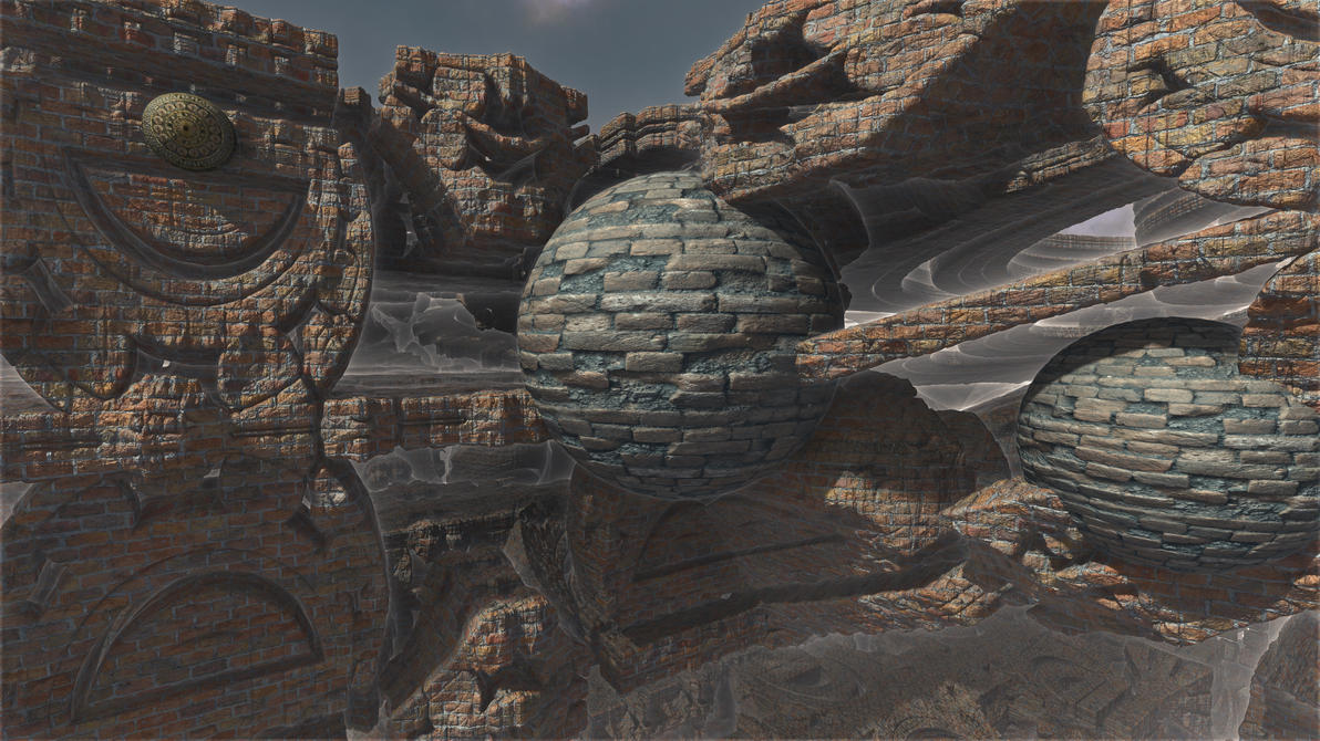 Mayan brick fantasy 2 by PatrickKarlsson
