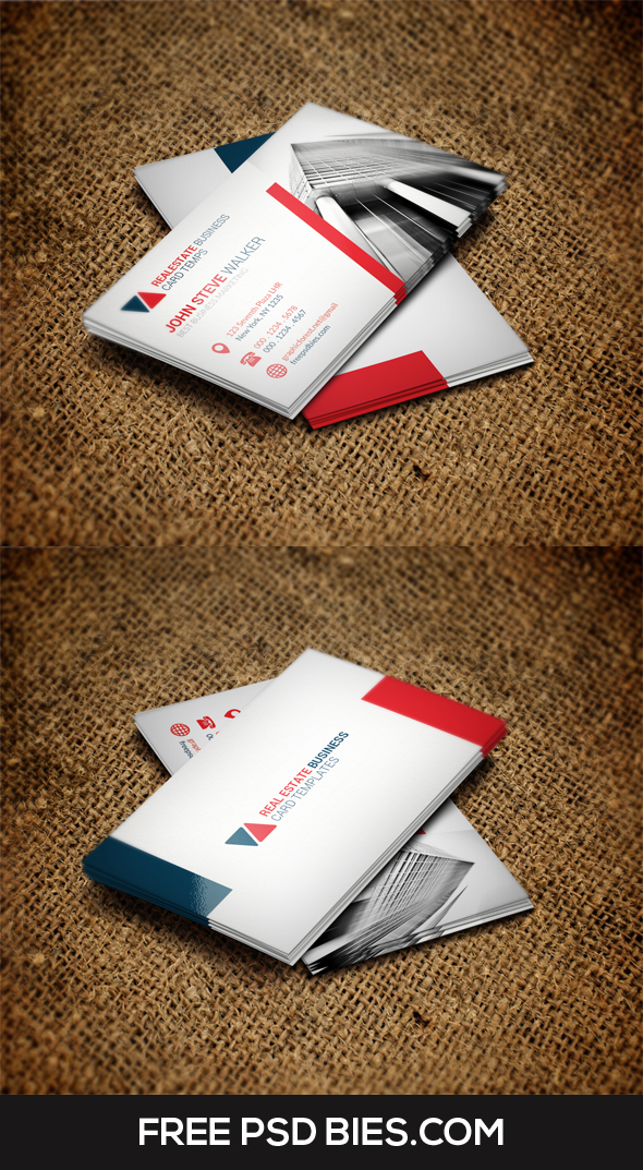 Simple and Clean Creative Business Card Template by ...