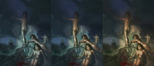 Sirens Variants by Rhineville