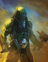 Orc by Rhineville