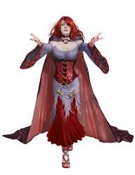 Female Vampire by Rhineville