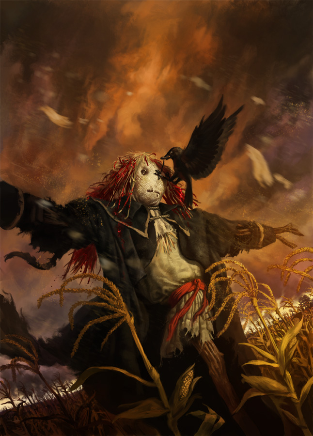 Tales of the Scarecrow cover by Rhineville
