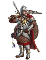Corwyn, Superstitious Mercenary by Rhineville