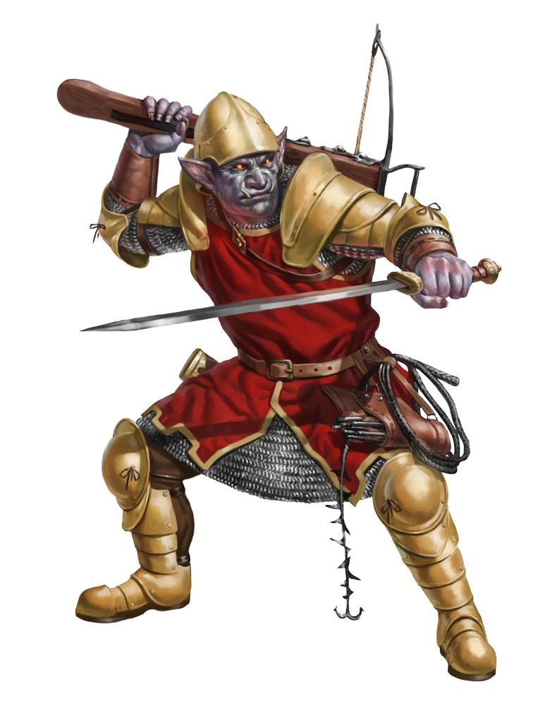 Hobgoblin Guard by Rhineville